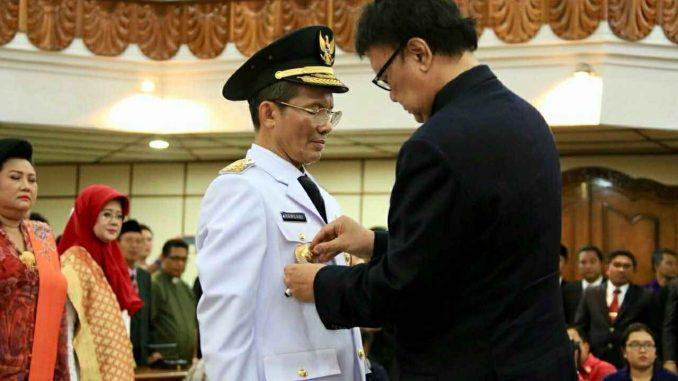 Hasil gambar untuk acara Pelantikan Penjabat serta Serah Terima Jabatan Gubernur Bali